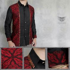 kemeja pria dewasa Blouse Batik Modern, Samoan Designs, African Men Fashion, Womens Fashion, Couples African Outfits, Batik Couple, Mens Designer Shirts, Batik Fashion, Batik Dress