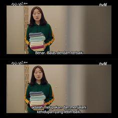 Quotes Drama Korea, Korean Drama Quotes, Words Quotes, Qoutes, Kdrama, Diy Hair Scrunchies, Korean Drama Best, Quotes From Novels, Movie Quotes