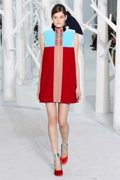 Delpozo Fall 2015 Ready-to-Wear Collection, Fall Fashion, Designer, Runway, Color Blocking, Women's Fashion, h-a-l-e.com