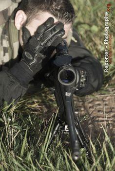 Tikka sniper by Sandra Chenu Godefroy
