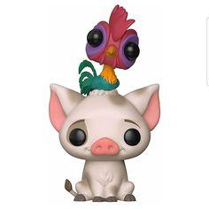 Disney - Moana - Pua with Hei Hei Pop! Funko Figures, Pop Vinyl Figures, Moana Pua, Pop Goes The Weasel, Disney Pop, Disney Pixar, Funko Toys, Pop Toys, Pop Collection