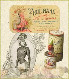 * Phul Nana A Bouquet of Indian Flowers - Grossmith London