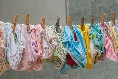 Girl's panties and underwear on the clothesline Nylons, Underwear Pattern, Girls In Panties, Popular Handbags, Vintage Lingerie, Sexy Lingerie, Mode Hijab, Some Girls, Vintage Handbags