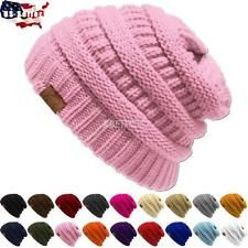 New Knit Slouchy Beanie Oversize Thick Cap Hat Unisex Womens Summer Beanie, Cc Hats, Cute Beanies, Cc Beanie, Slouchy Beanie, Headgear, Clearance Sale, Fingerless Gloves, Cable Knit