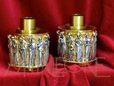 Candelieri cesellati 12 apostoli