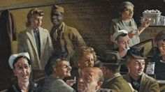 A wartime painting of a restaurant in Sydney's seedy Kings Cross is blocked from…
