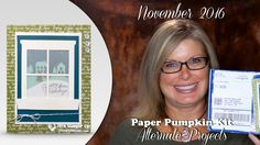 More info, Giveaway and Free PDF: http://stampwithtami.com/blog/2016/12/paper-pumpkin-nov-2016/ Stampin Up Paper Pumpkin Winter Wonderland. 2017 November Paper Pumpkin Christmas card kit. DIY crafing kits. Alternate project. Tami White Stampin Up Independent Demonstrator