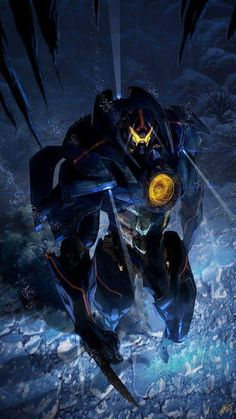 Gipsy Danger - Pacific Rim designed by - posted under Digital Art tagged with: Fan Art Manga & Anime Movies & TV Pacific Rim Robots by Fribly Editorial Character Concept, Character Art, Concept Art, Pacific Rim Jaeger, Pacific Rim Kaiju, Gipsy Danger, Space Opera, Wallpaper Animes, Mekka