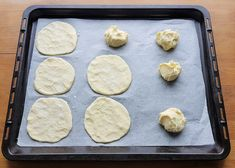 Gluteenittomat perunarieskat | Himoleipuri Griddles, Griddle Pan, Food And Drink, Gluten Free, Cookies, Desserts, Glutenfree, Crack Crackers, Tailgate Desserts