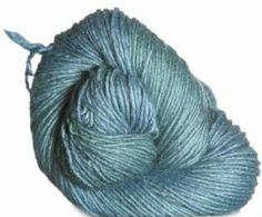 Malabrigo Silky Merino Yarn - 411 Green Gray - Large Photo at Jimmy Beans Wool