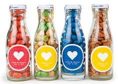"""The Love Fruits, another best seller, are a capsule of candy or snack packaged as a rubbery skinned """"fruit."""""""