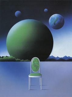 Shigeo Okamoto. 1983. Book cover illustration. Space Teriyaki 6 - 50 Watts