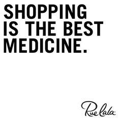 Amazing how shopping fixes everything!!