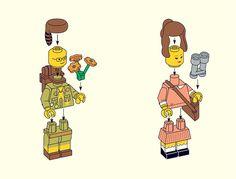 Wes Anderson Lego
