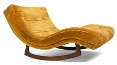 Pair of Doublewide Rocking Chaise Longues by Craft Associates | From a unique collection of antique and modern chaises longues at http://www.1stdibs.com/furniture/seating/chaises-longues/