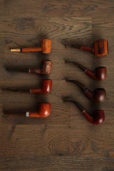 Vintage Pipe Set