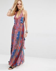 This free people maxi dress is stunning