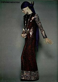 Christian Dior in L'officiel de la mode, 1969
