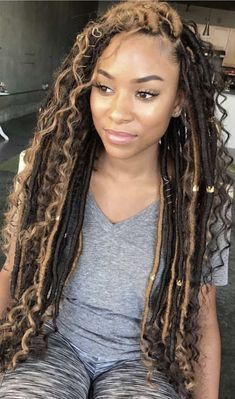 ANY LENGTH, ANY TEXTURE, ANY BUNDLE DEAL, only $200.  Shop www.envihairimports.com Goddess Locks, Faux Locs Goddess, Goddess Braids, Afro Braids, Marley Hair, Bob Marley, Crochet Hair Styles, Crochet Braids, Black Girl Braided Hairstyles