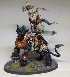 Lord-Celestant on Dracoth | Astral Templars