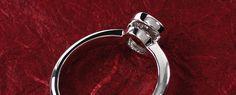 "InLumen Diamantring ""Rom"" aus Platin Heart Ring, Engagement Rings, Jewelry, Princess Cut, Stud Earrings, Rome, Ring, Enagement Rings, Wedding Rings"