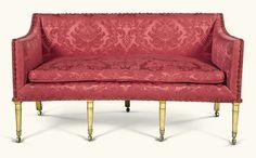 A Regency giltwood sofa, circa 1820