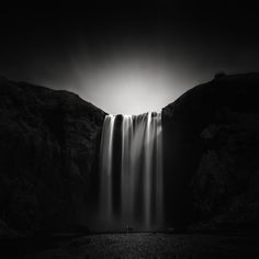 High Contrast Black and White Photography of Iceland by Andy Lee