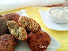 Falafel de lentejas - CACEROLADAS Spanish Cuisine, Plant Based Diet, Banquet, Vegan Recipes, Muffin, Breakfast, Ethnic Recipes, Food, Vegetarian