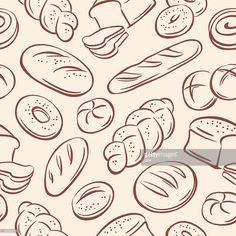 Vector Art : Bread
