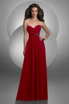 elegant long red dress. I love this. It&-39-s sooooo simple but looks ...
