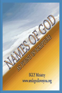 How to See Many Amazing Names of God