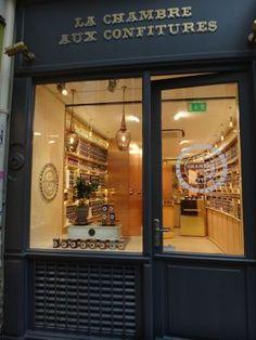"PARIS Le Marais I ""Here's a place that only sells confiture, or jam."" (in Marais)"