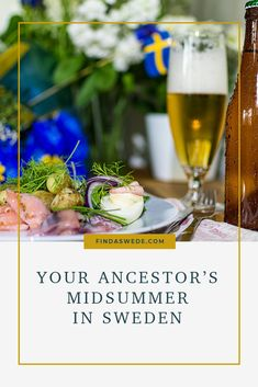 Glad midsommar! Midsummer in #Sweden is an old tradition. Swedes often joke about it being our unofficial national day. Midsummer was first documented in Sweden in the year 1555. Read more about it here! #genealogy #familyhistory
