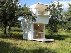 A Soul Box in Arcadia, AKA a tiny house in Germany