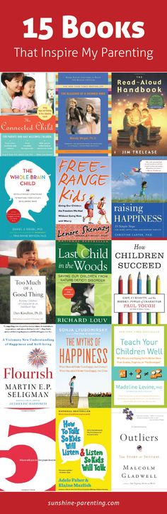 15 Books that Inspire my Parenting