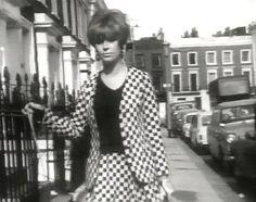 Swinging London Fashion Model Kitty Gordon 1966