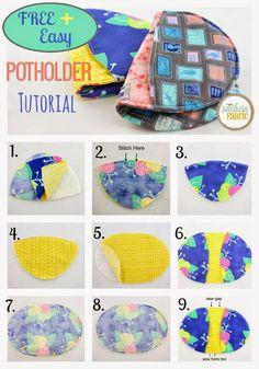 Easiest Potholder for Beginners