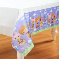 This Lalaloopsy Paper Tablecover will protect your table while keeping it clean! Includes 1 paper tablecover that measures x Lalaloopsy Paper Tablecover. Measures high x 75th Birthday Parties, 7th Birthday, Lalaloopsy Party, Paper Table, Purple Backgrounds, Paper Straws, Table Covers, Party Gifts, Party Themes