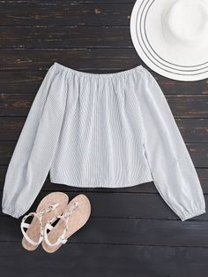 SHARE & Get it FREE | Long Sleeved Off The Shoulder Top - WhiteFor Fashion Lovers only:80,000+ Items • New Arrivals Daily Join Zaful: Get YOUR $50 NOW!