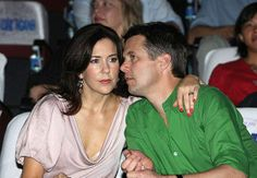 The Danish Crown Prince couple: Frederik and Mary