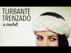 Turbante / Banda en TRENZA a Crochet
