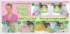 6-in-1 Stick'n Stitch by Nancy Zieman for Clover