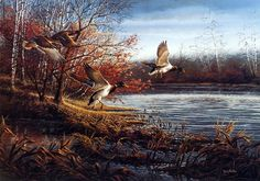 Terry Redlin The Backwater