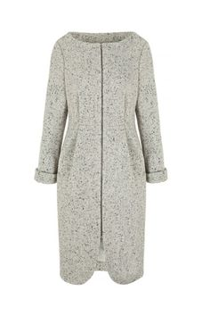 Snap Coat in Tweed (click to view larger image)
