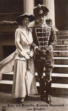 Prince and Princess Friedrich Sigismund of Prussia.