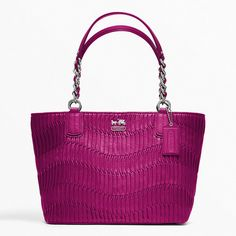 9dfb013282ac COACH MADISON GATHERED LEATHER TOTE