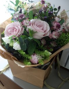 Pretty flowers from Scarlet & Violet, London