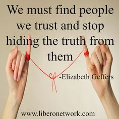 Honesty and Shame | http://www.liberonetwork.com/depression/honesty-and-shame #recovery #mentalhealth #eatingdisorders #edrecovery