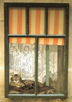 Cats in Art - Jocelyn Cuckootree