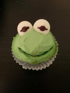 The Muppets Cupcake - Kermit